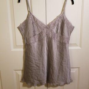 Lacy gray cami!